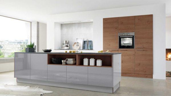 nolte Einbauküche Artwood mit SIEMENS-Einbaugeräten
