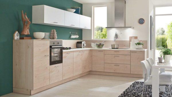 nolte Einbauküche Artwood mit gorenje-Einbaugeräten