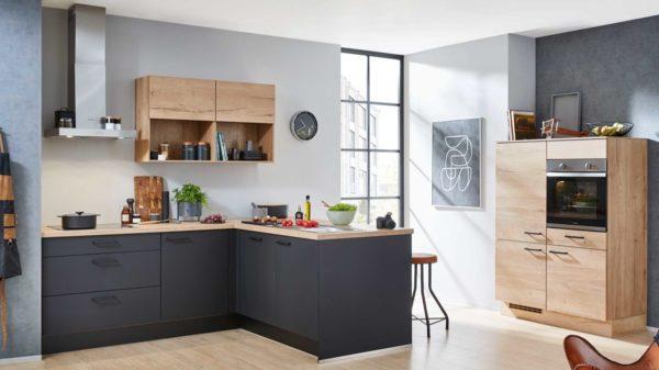 nobilia Einbauküche Easytouch mit AEG Einbaugeräten