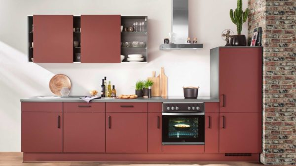 nobilia Einbauküche Easytouch mit privileg-Elektrogeräten
