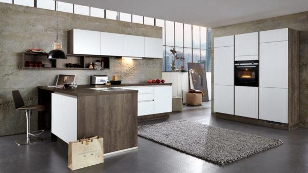 Culineo L-Küche mit SIEMENS Einbaugeräten