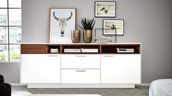 Interliving Wohnzimmer Serie 2102 – Sideboard 510266