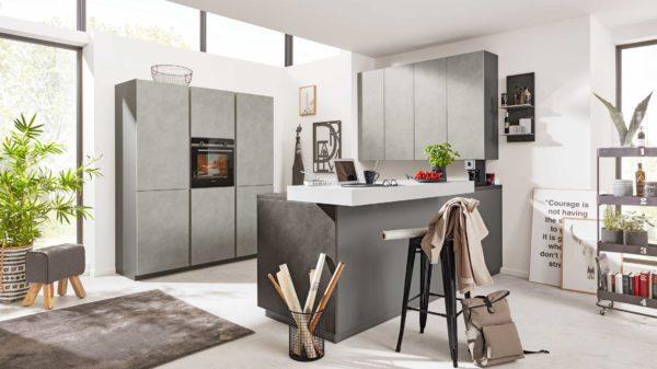 Interliving Küche Serie 3033 mit SIEMENS Einbaugeräten