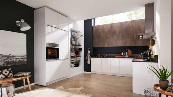 Interliving Küche Serie 3034 mit privileg Einbaugeräten