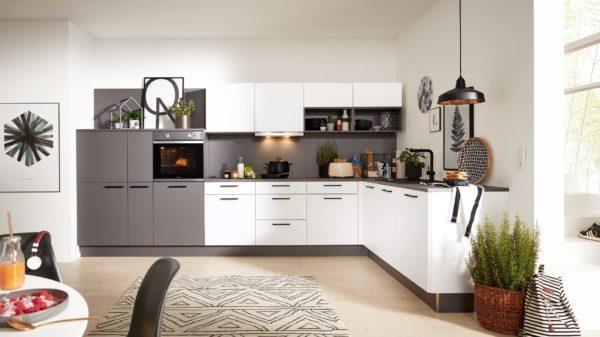 Interliving Küche Serie 3032 mit privileg Einbaugeräten