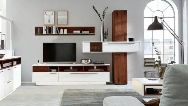 Interliving Wohnzimmer Serie 2102 – Wohnkombination 510801S