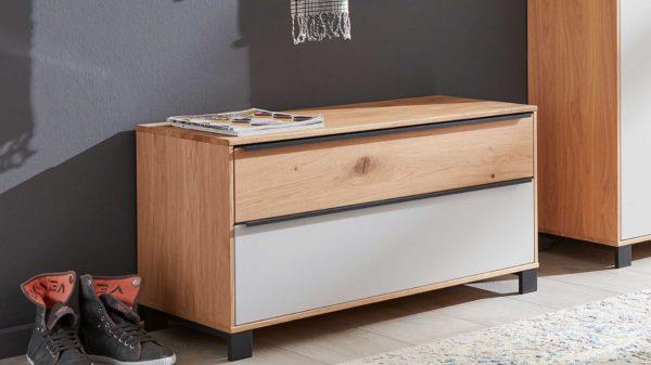 Interliving Garderoben Serie 6005 – Garderobenbank 804