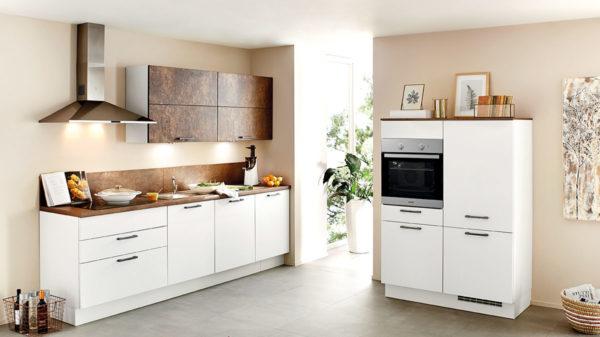 nobilia Einbauküche Speed mit gorenje Elektrogeräten wie Kühlschrank etc.