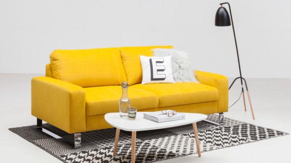 SOFAkultur 2,5-Sitzer SK 239 – Couch mit Federkern