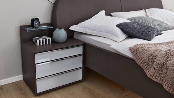 Interliving Schlafzimmer Serie 1006 – Nachtkommoden-Set 805