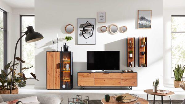 Interliving Wohnzimmer Serie 2008 – Wohnwand V20