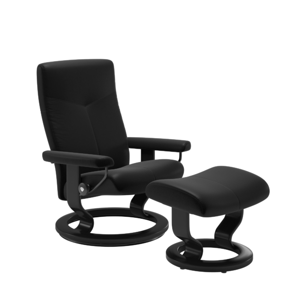Stressless Relaxsessel Dover Classic S mit Hocker