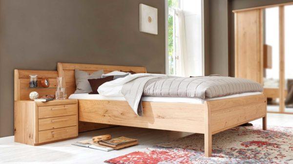 Interliving Schlafzimmer Serie 1001 – Bettkombination mit Aufsätzen