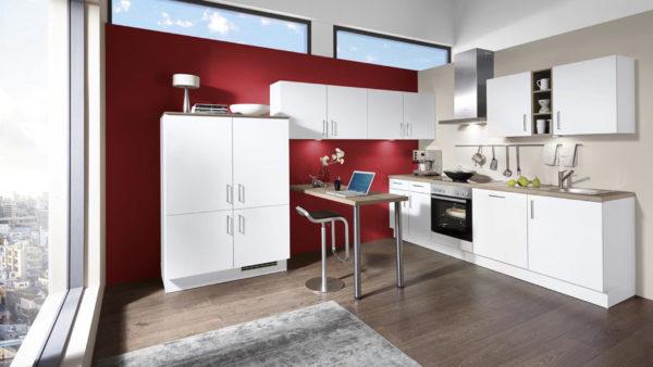 nobilia Einbauküche Speed mit gorenje-Elektrogeräten und Küchenmöbeln