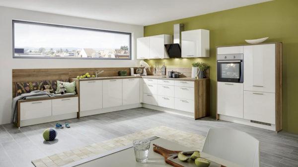 Einbauküche mit gorenje Elektrogeräten, z. B.  Kühlschrank